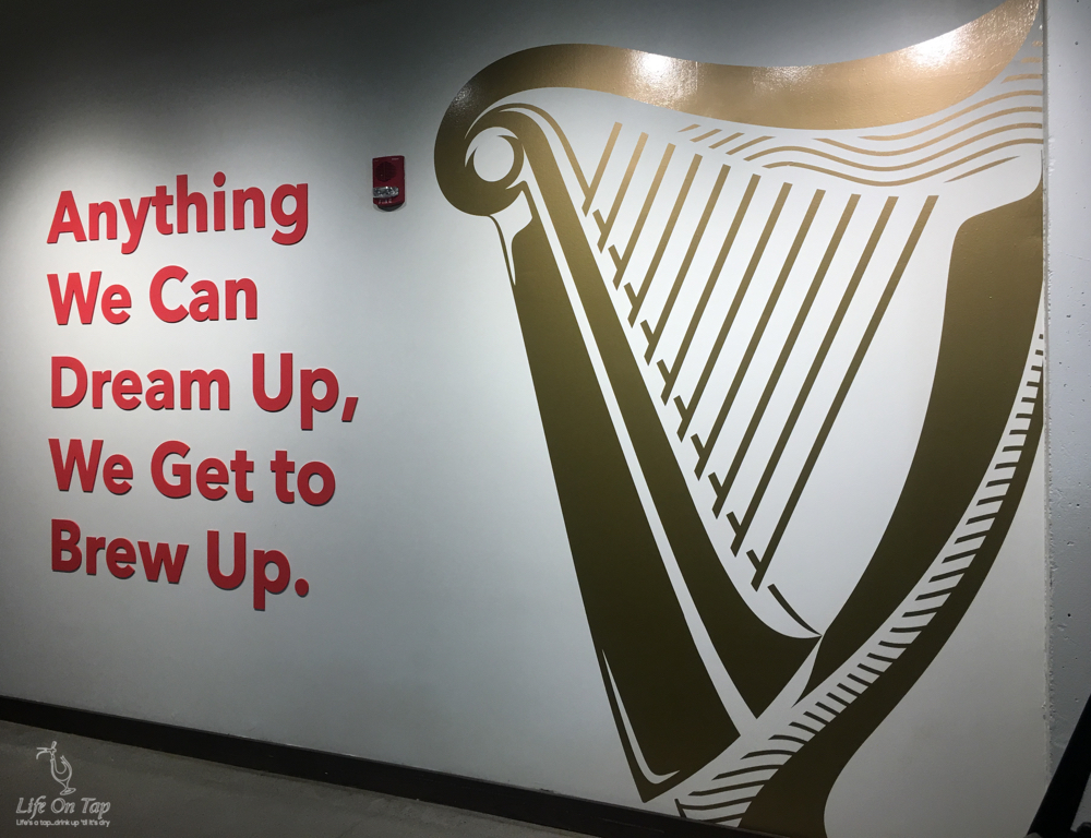Anything We Can Dream Up, We Get To Brew Up. - Guinness Open Gate Brewery and Barrel House